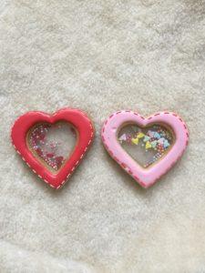 東京都中央区 月島 勝どき 豊洲 アイシングクッキー教室 Jasmine(ジャスミン) ハート アラザン