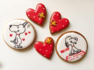 東京都中央区 月島 勝どき 豊洲 アイシングクッキー教室 Jasmine(ジャスミン) スヌーピー