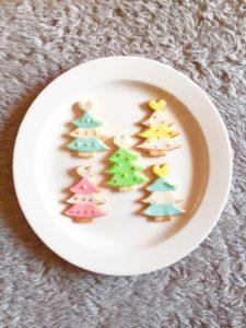 東京都中央区 月島 勝どき 豊洲 アイシングクッキー教室 Jasmine(ジャスミン) ツリー