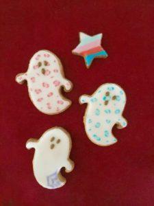 東京都中央区 月島 勝どき 豊洲 アイシングクッキー教室 Jasmine(ジャスミン) おばけ