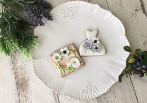 東京都中央区 月島 勝どき 豊洲 アイシングクッキー教室 Jasmine(ジャスミン) 花