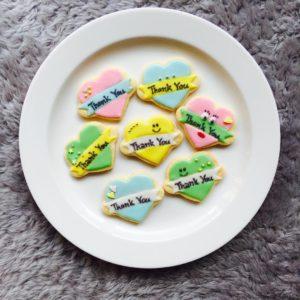 東京都中央区 月島 勝どき 豊洲 アイシングクッキー教室 Jasmine(ジャスミン)  ハート